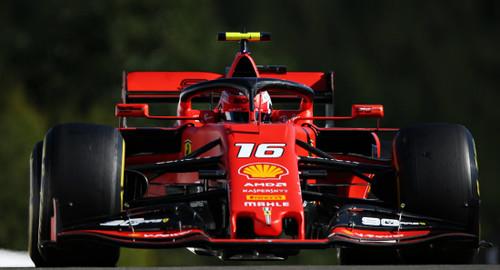 Леклер выиграл квалификацию в Бельгии, Феррари доминирует