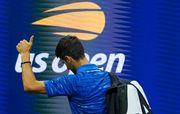 US Open. Джокович из-за травмы не смог доиграть матч с Вавринкой