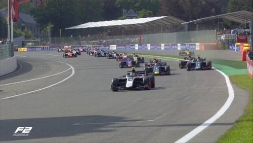 ВИДЕО. Жуткая авария в Формуле-2 на Гран-при Бельгии