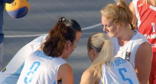 Женская сборная Украины победила на старте Евробаскета-3х3
