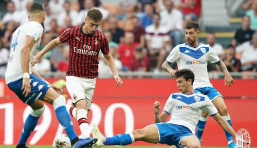 Милан - Брешия - 1:0. Видео гола и обзор матча