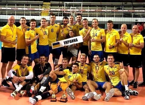Мужская сборной Украины победила на турнире в Македонии