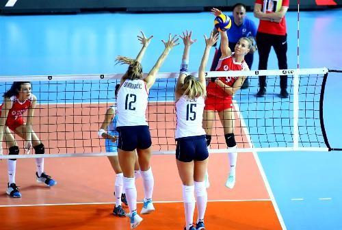На женском чемпионате Европы определились четвертьфиналисты