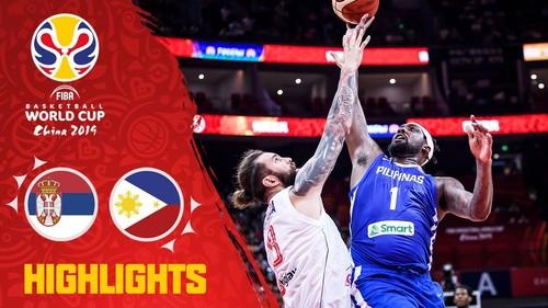 ЧС з баскетболу. Сербія — Філіппіни — 126:67. Відеоогляд матчу