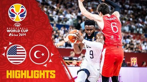 ЧС з баскетболу. США – Туреччина – 93:92. Відеоогляд матчу