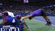 Димитров вибив Федерера з US Open в складному п'ятисетовому поєдинку