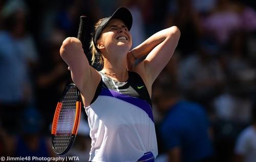 СВИТОЛИНА: «Перед началом US Open не верила, что выйду в полуфинал»
