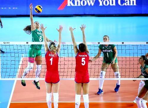 На чемпионате Европы по волейболу сыграны матчи 1/4 финала
