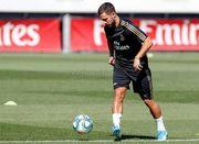 Азар почав тренуватися з м'ячем