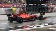 Леклер - быстрейший в дождевой 1-й практике Гран-при Италии