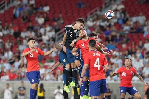 Аргентина сыграла в нулевую ничью с Чили