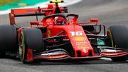 Леклер снова опередил соперников во 2-й практике Гран-при Италии