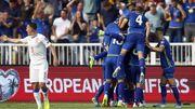 Косово нанесло сенсационное поражение Чехии и вышла в лидеры