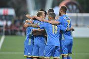 Збірна України здобула 40-ву перемогу на виїзді та 10-ту на ЧЄ