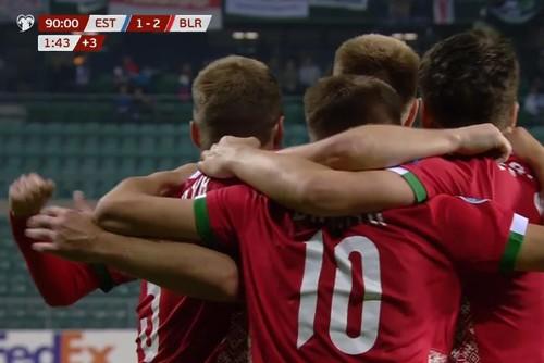 Группа C. Беларусь вырвала победу у Эстонии на последних минутах