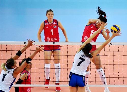 Сербія стала першим фіналістом чемпіонату Європи з волейболу