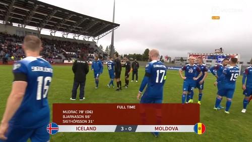 Исландия – Молдова – 3:0. Видео голов и обзор матча