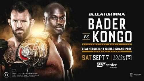 Где смотреть онлайн Bellator 226: Райан Бейдер – Чейк Конго