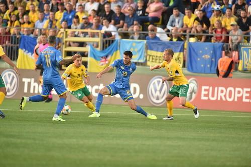 Вторая победа над Литвой практически гарантирует Украине выход на Евро