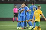 КАРИКАТУРА. Разгромная победа Украины над Литвой