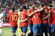 Группа F. Испания разгромила Фарерские острова