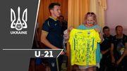 ВИДЕО. Украинская молодежка посетила детский дом в Запорожье