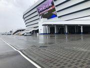 ФОТО. Винні бобри. Стадіон в Калінінграді провалюється в болото