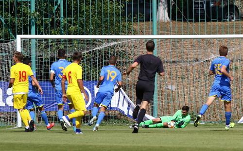 Украина U-19 проиграла Румынии в контрольном матче