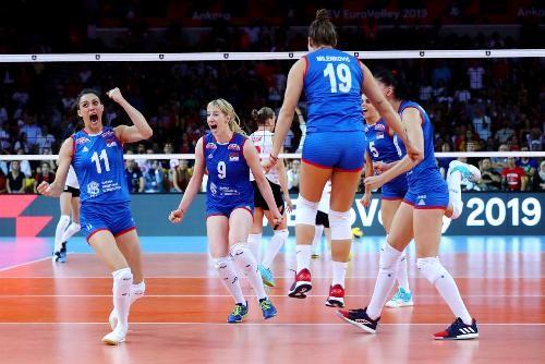 Сербия во второй раз подряд стала чемпионом Европы