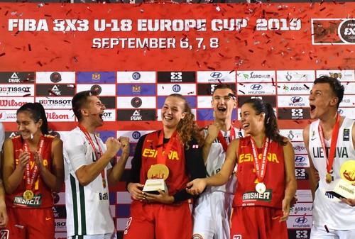 Сборная Украины U-18 заняла 4-е место на ЧЕ по баскетболу 3х3