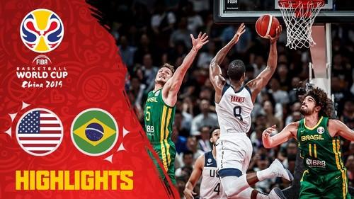 ЧМ по баскетболу. США – Бразилия – 89:73. Видеообзор матча