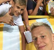 7 тысяч фанатов посетили тренировку сборной Украины на Днепр-Арене