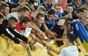 ФОТО. Открытая тренировка сборной Украины в Днепре
