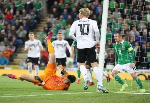 Германия нанесла первое поражение Северной Ирландии в отборе на Евро