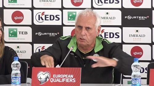 ВИДЕО. Тренер Косова зажег на пресс-конференции перед Англией