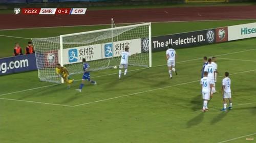 Сан-Марино – Кипр – 0:4. Видео голов и обзор матча
