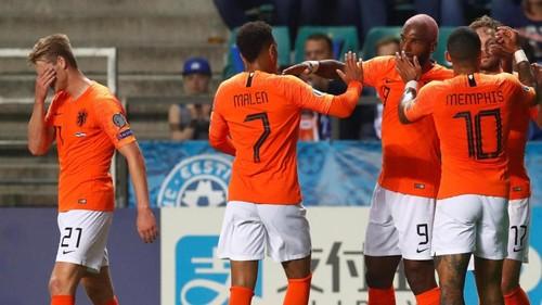 Эстония – Нидерланды – 0:4. Видео голов и обзор матча