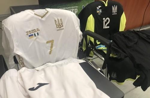 Украина сыграет с Нигерией в бело-золотистой форме