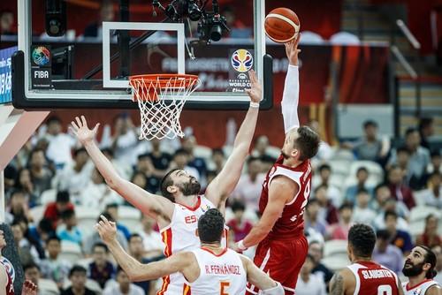 ЧМ по баскетболу. Испания победила Польшу в четвертьфинале