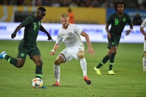 Сборная Украины совершила камбэк в товарищеском матче против Нигерии