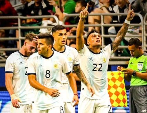 Аргентина — Мексика — 4:0. Видео голов и обзор матча