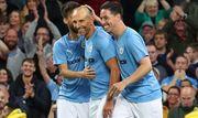 Легенды Манчестер Сити – Легенды АПЛ – 2:2. Видео голов и обзор матча