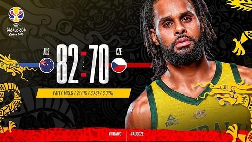 Австралия – последний полуфиналист чемпионата мира по баскетболу