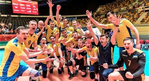 Определен состав сборной Украины на мужской волейбольный Евро-2019