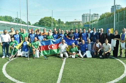 Ветерани бойових дій України й Азербайджану зіграли товариський матч