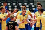 ЧЕ по волейболу. Украина обыграла Чехию в стартовом матче