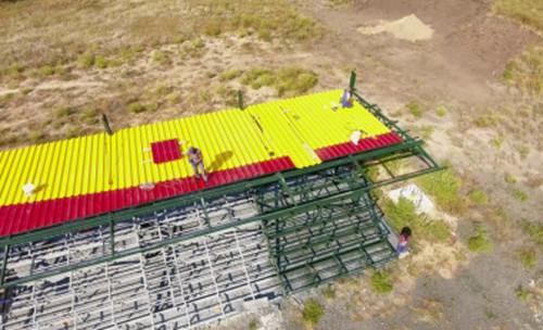 ВИДЕО. Ингулец показал, как идет строительство нового стадиона