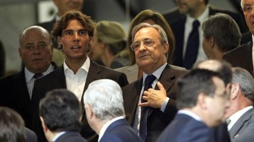 Президент Реала хочет организовать матч Надаль - Федерер на Бернабеу