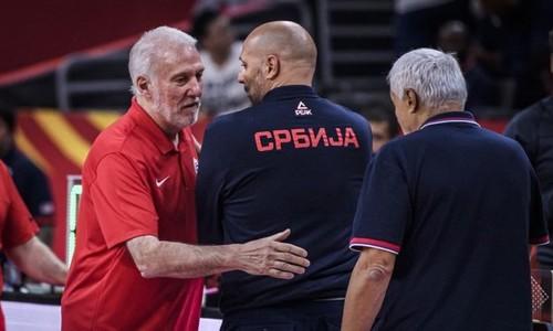 Тренер Сербии: «Попович сказал мне, что мы два гребанных неудачника»