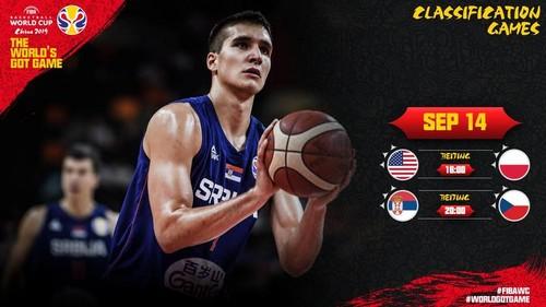ЧМ по баскетболу. Сербия – Чехия. Смотреть онлайн. LIVE трансляция